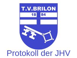 Protokoll der JHV 2019