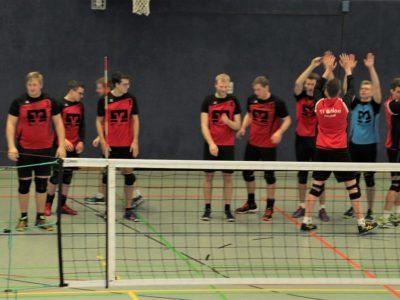 TVB Volleyballer sichern sich Halbzeitmeisterschaft