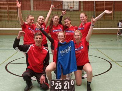 Auswärtssieg der Volleyball-Damen