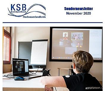 Kreissportbund Newsletter 11_2020