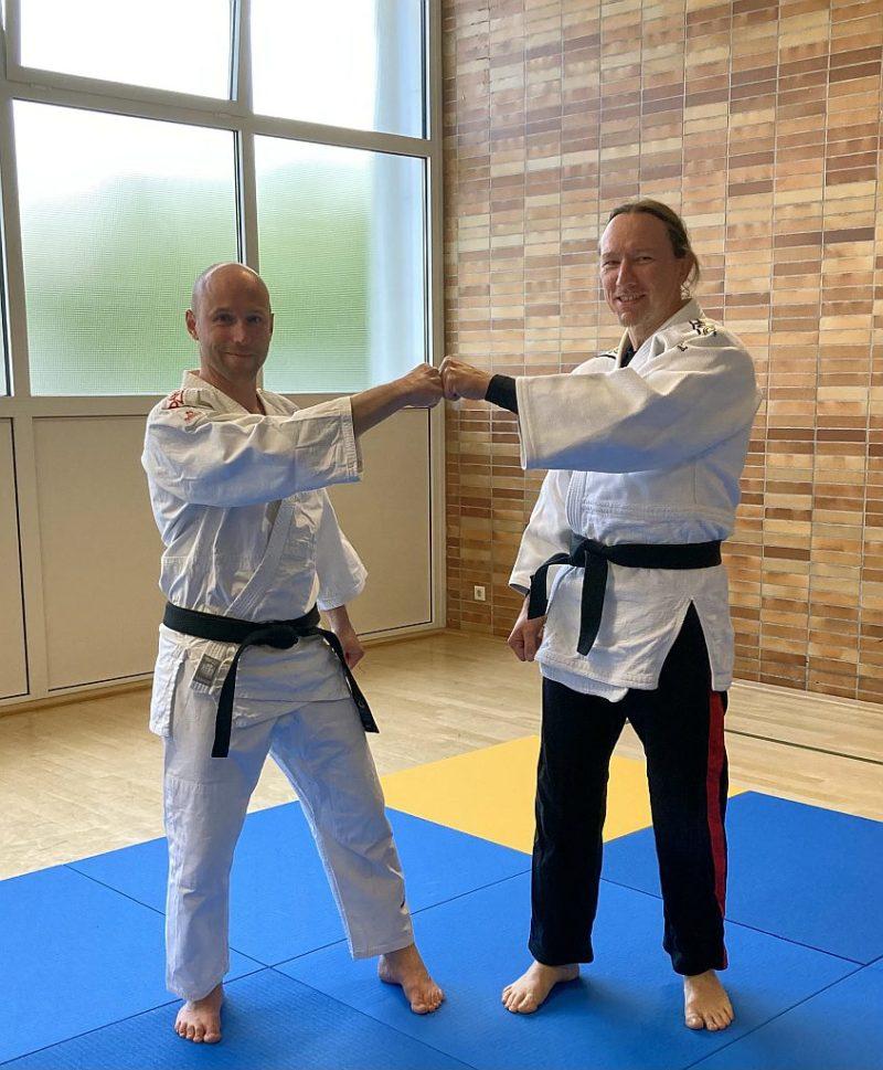 Neuer Trainer Jiu-Jitsu